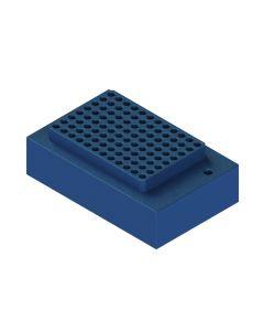 Heat Block Rack 12 Place 8 microTUBE Strip V2